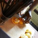 Orange mit Schuss - im Sommer ein Muss